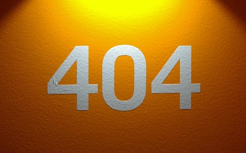 404エラー イメージ画像