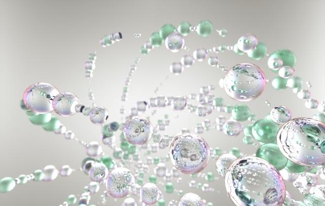 界面活性剤 効果イメージ