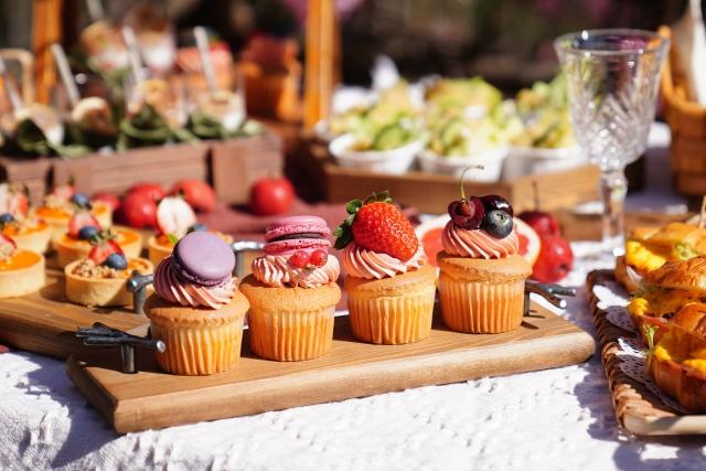 界面活性剤が含まれている 食品 スポンジケーキのイメージ