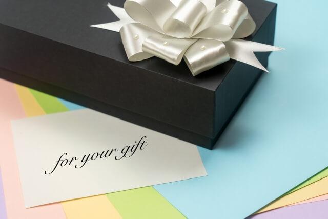 父へのプレゼントと手紙