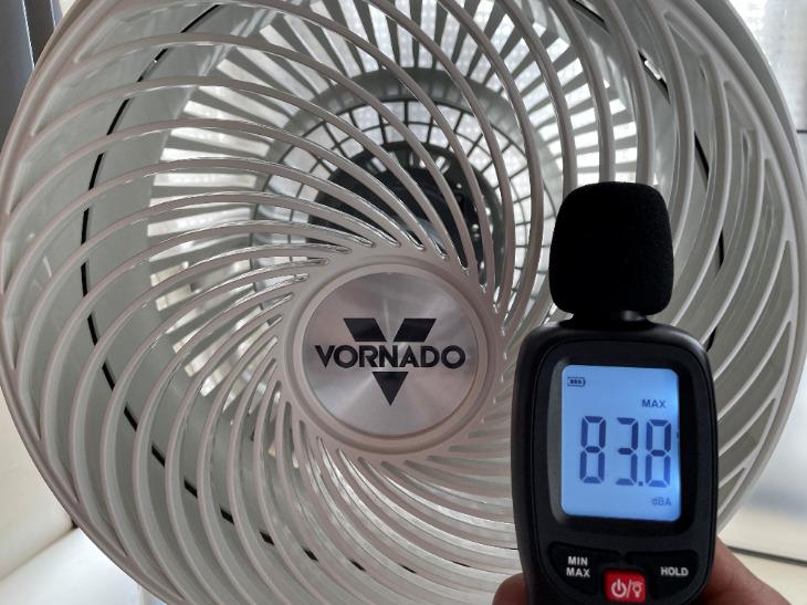 ボルネード723DC-JPの静音性